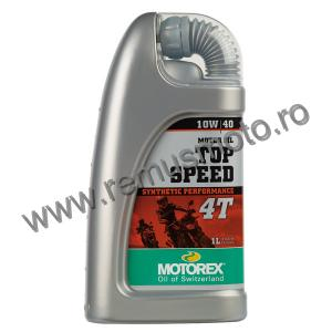 Ulei 4 Timpi MOTOREX Top Speed 4T 10W / 40