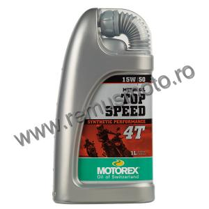 Ulei 4 Timpi MOTOREX Top Speed 4T 15W / 50